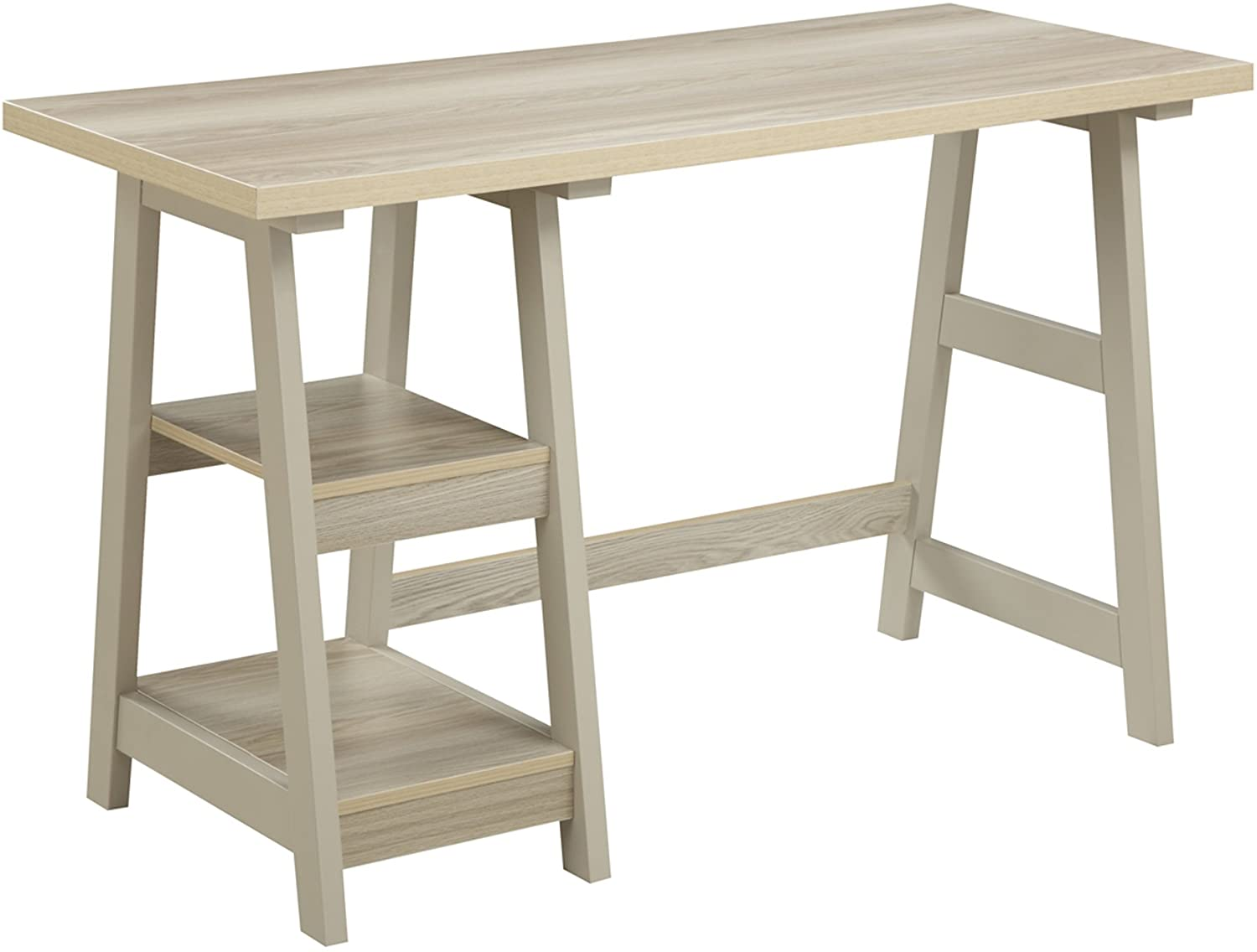 Convenience Concepts 090107WW Designs2Go Trestle Desk