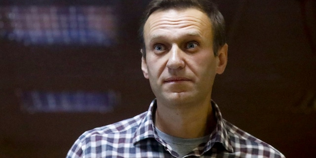 The state prison service, FSIN, said in a statement Monday that Navalny would be transferred to a hospital for convicts located in another penal colony in Vladimir, a city east of Moscow. (AP Photo/Alexander Zemlianichenko, File)