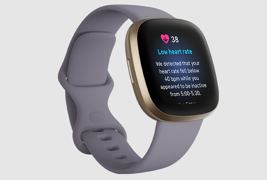 fitbit low heart rate notifications