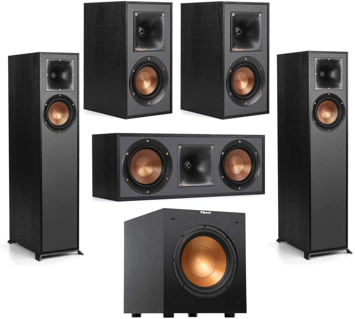 Klipsch Reference R-610F 5.1 Home Theater Pack