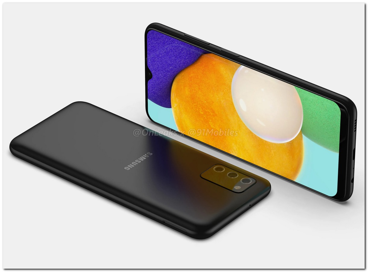 Samsung Galaxy A03s onleaks 91mobiles titled
