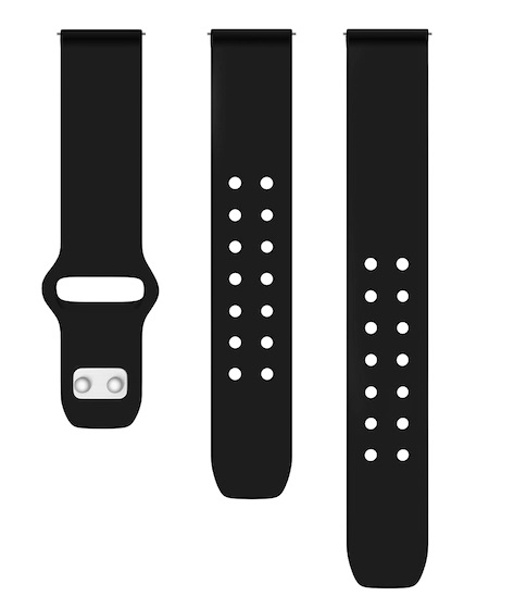 Quick Change Silicone Sport Watch Band