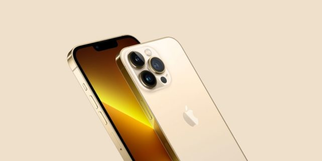 iPhone 13 Pro Gold Color