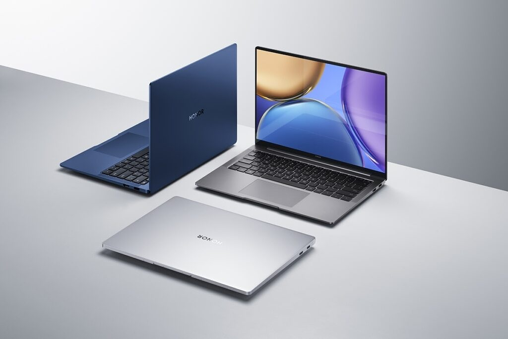 HONOR MagicBook V 14 in three colors